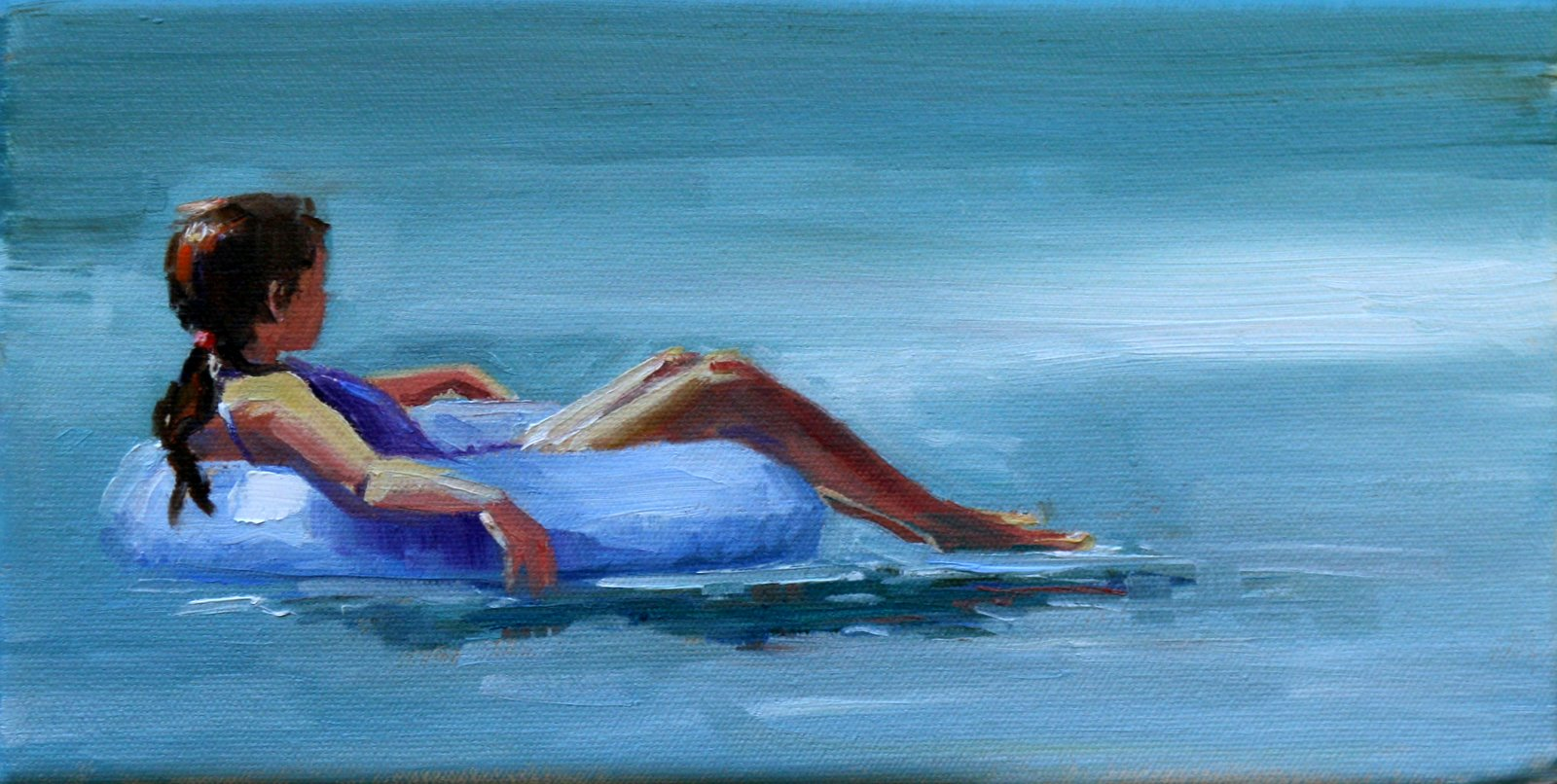 """float"" original fine art by Carol Carmichael"