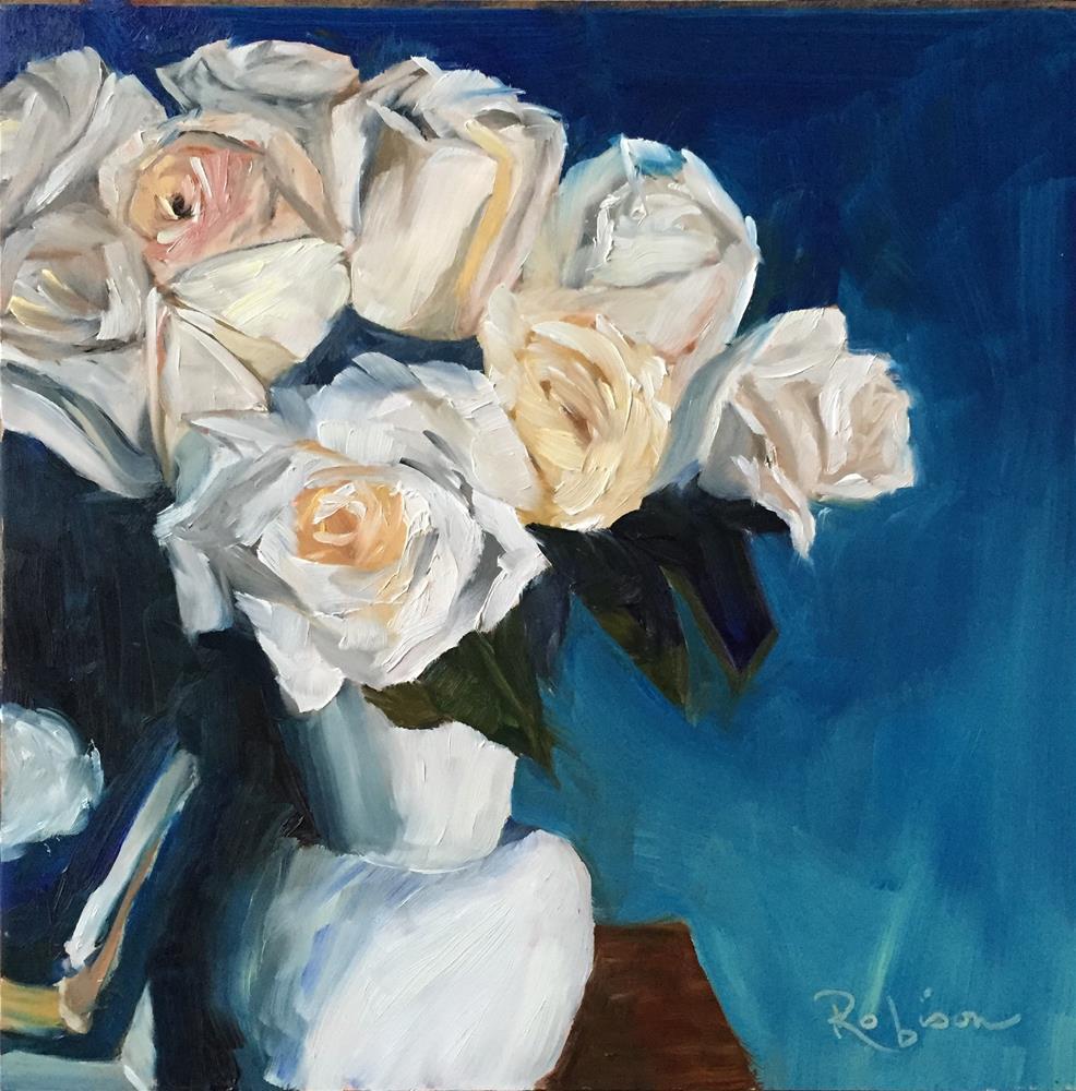 """Rose Study:  10 of 10"" original fine art by Renee Robison"