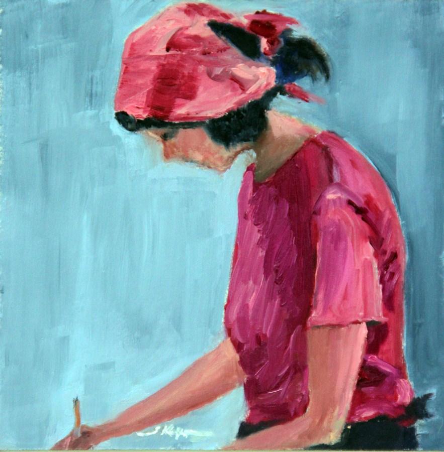 """""""Pretty in Pink"""" original fine art by Shelley Koopmann"""