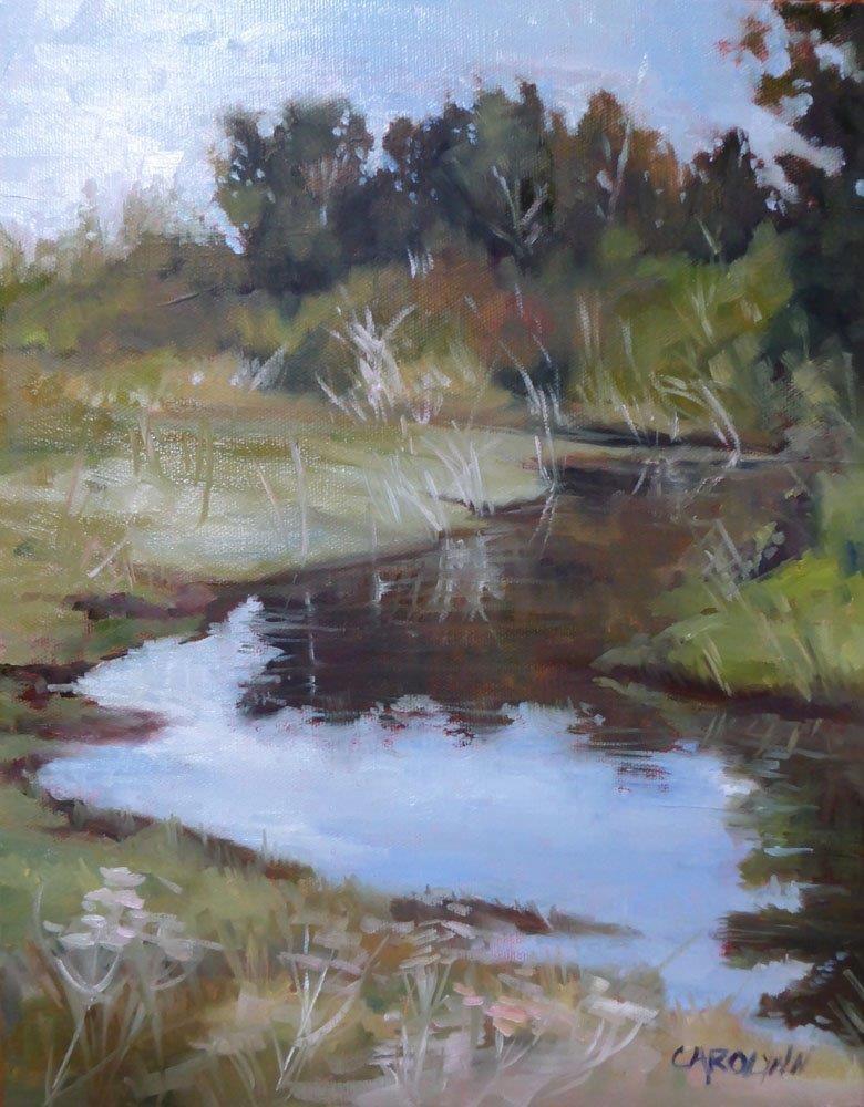 """""""The Fen - Crescent Beach"""" original fine art by Carolynn Doan"""