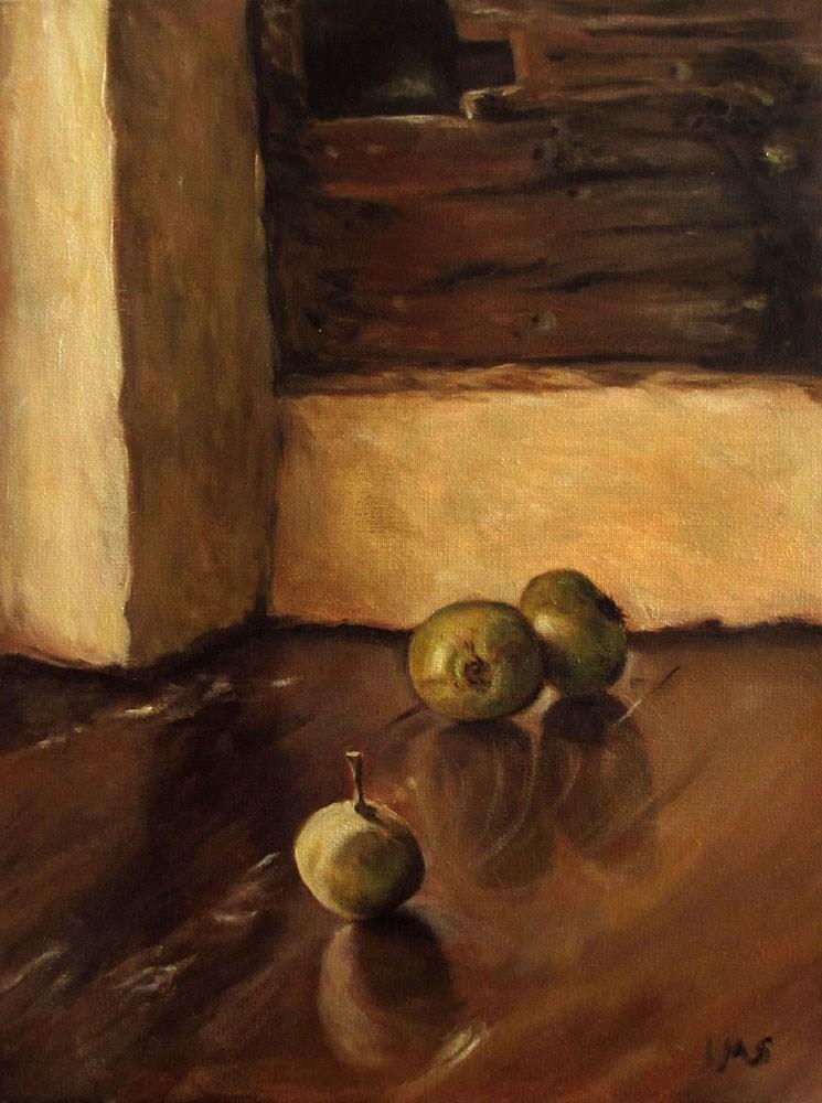 """""""Wild Apples"""" original fine art by Ulrike Miesen-Schuermann"""