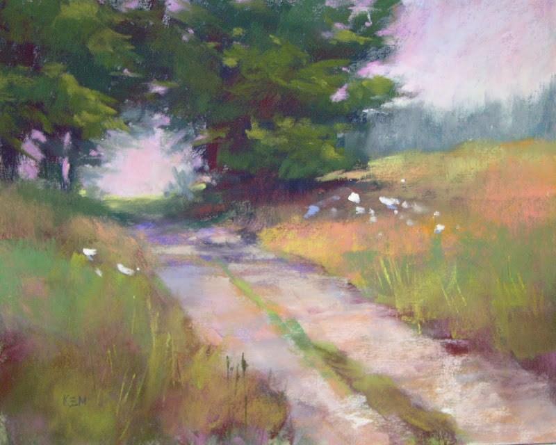 """Top 5 Posts of 2012....Choosing a Pastel Box"" original fine art by Karen Margulis"