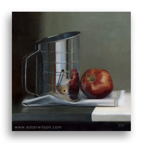 """Apple Pie"" original fine art by Ester Wilson"