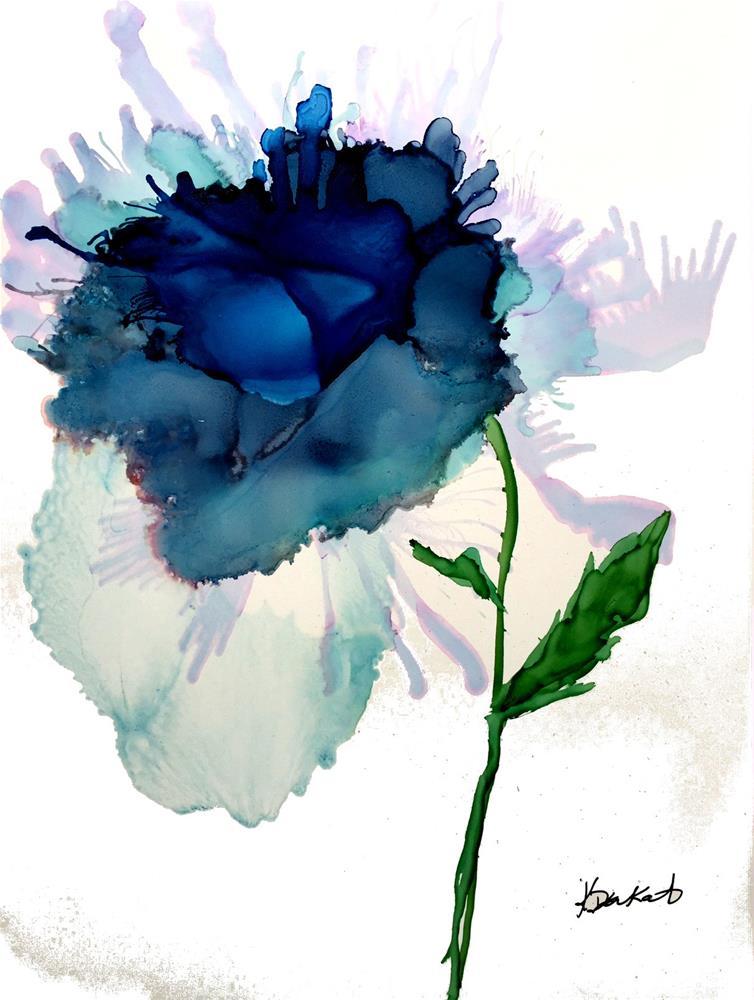 """""""Sapphire Shoot"""" original fine art by Kristen Dukat"""