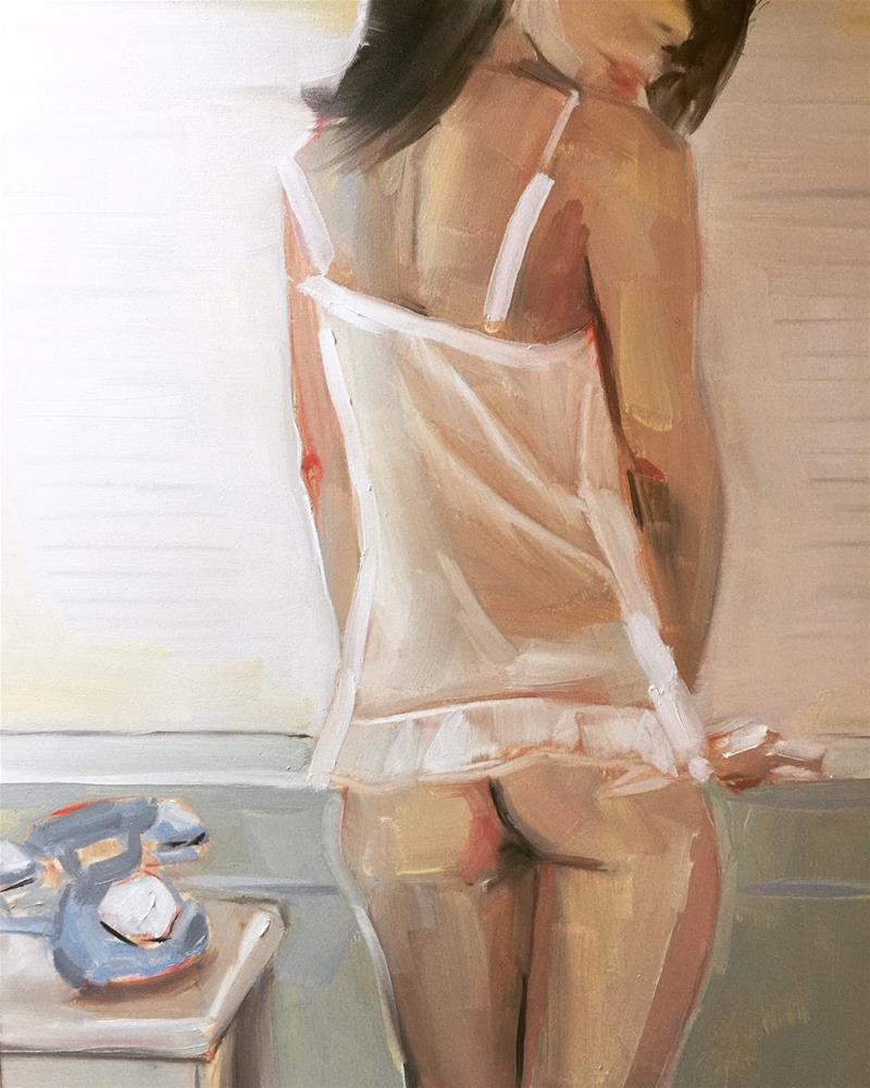 """488 As Afternoon Sunshine"" original fine art by Jenny Doh"