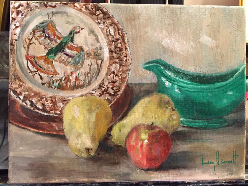 """Fiesta"" original fine art by Lucy Hammett"