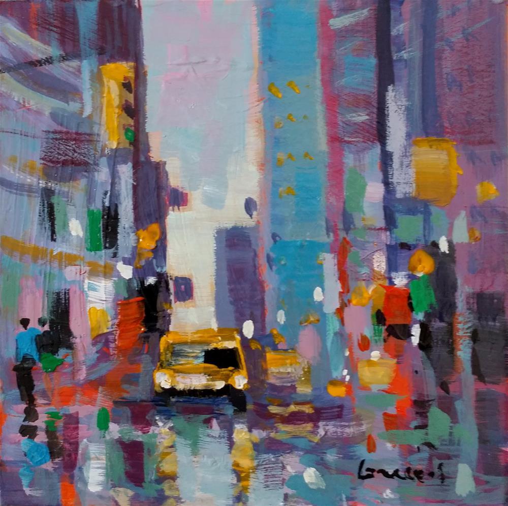 """New-York #5"" original fine art by salvatore greco"