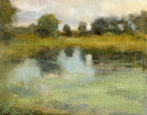 """Crex Meadows 3"" original fine art by Maryann Cleary"