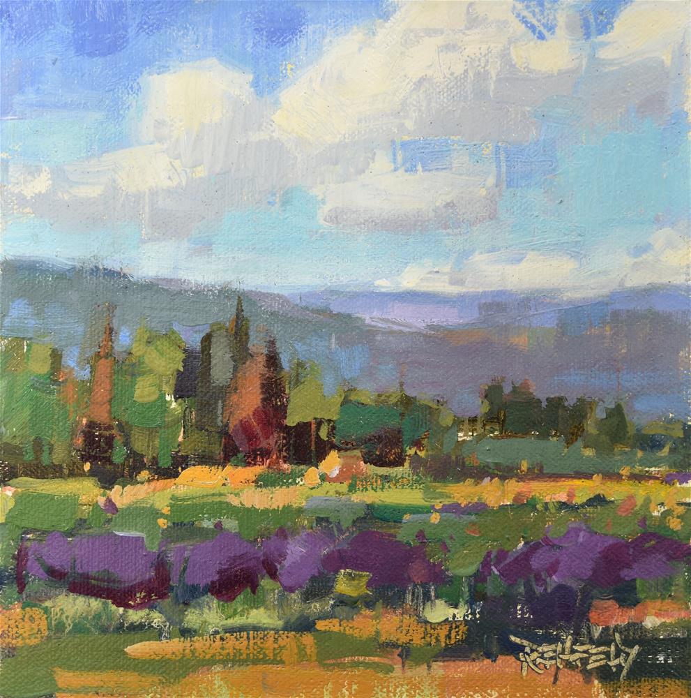 """Farm Vista"" original fine art by Cathleen Rehfeld"