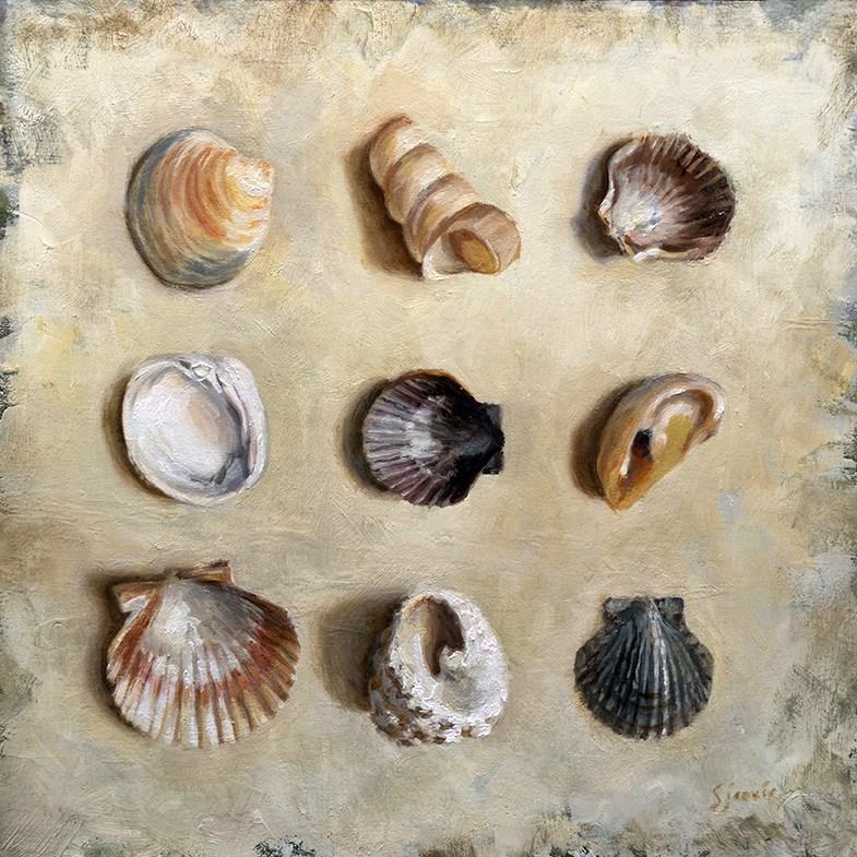 """Beach Comber"" original fine art by Susan N Jarvis"