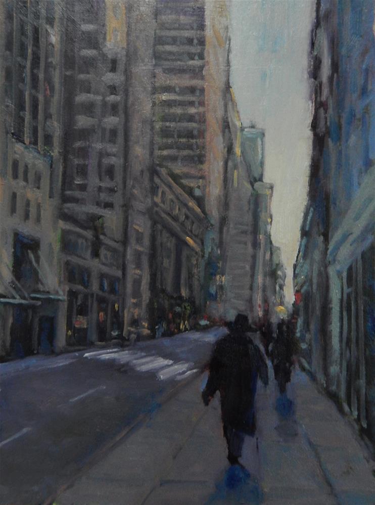 """""""Evening Walk"""" original fine art by Lisa Kyle"""