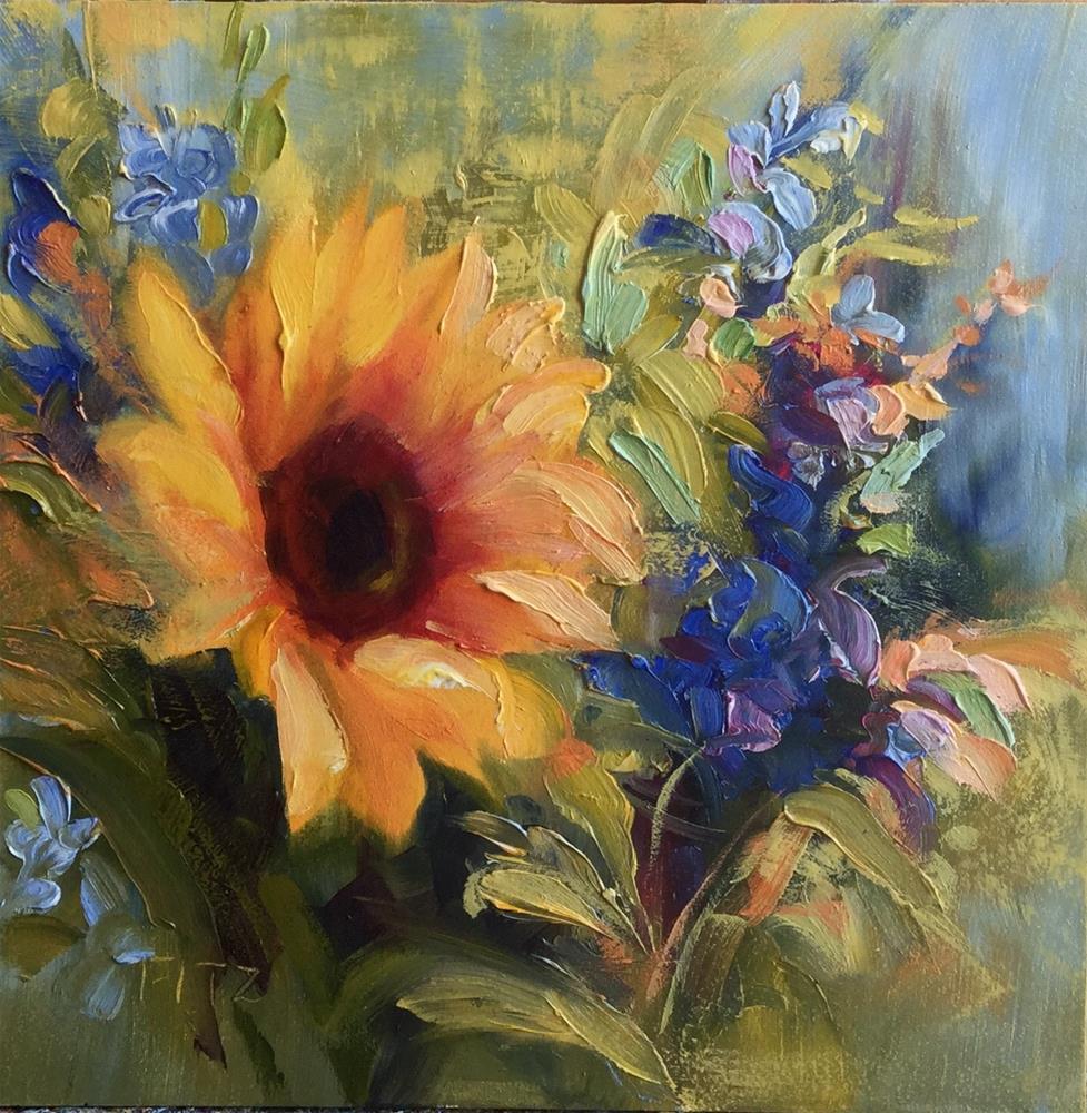 """Radiance"" original fine art by Charlotte Fitzgerald"