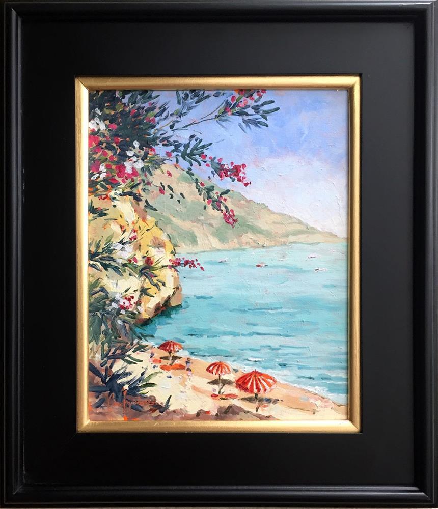 """Amalfi"" original fine art by Cornelis vanSpronsen"