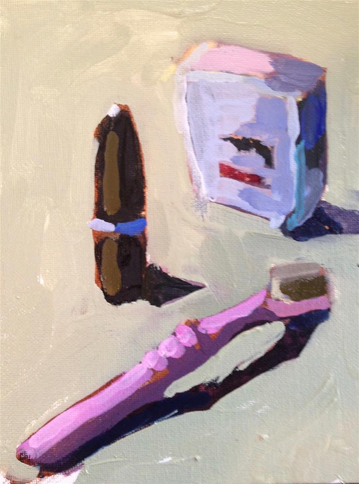 """Mouth Magic"" original fine art by Pamela Hoffmeister"