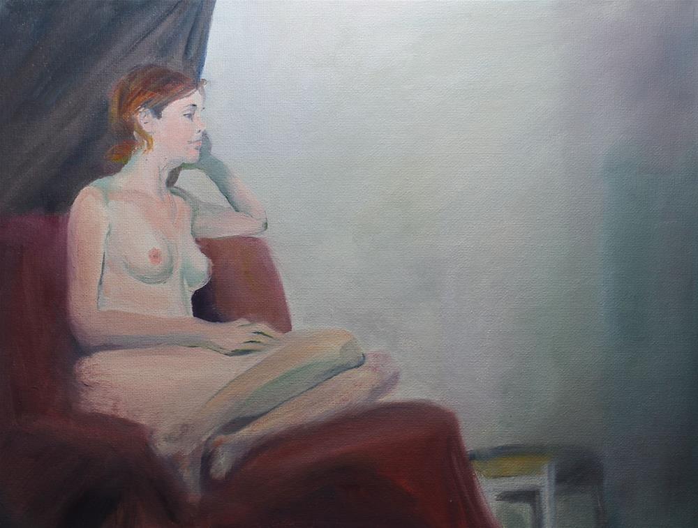 """Pose poise"" original fine art by Susan Andersen"