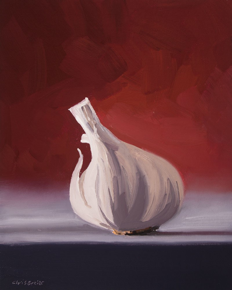 """Garlic"" original fine art by Chris Breier"