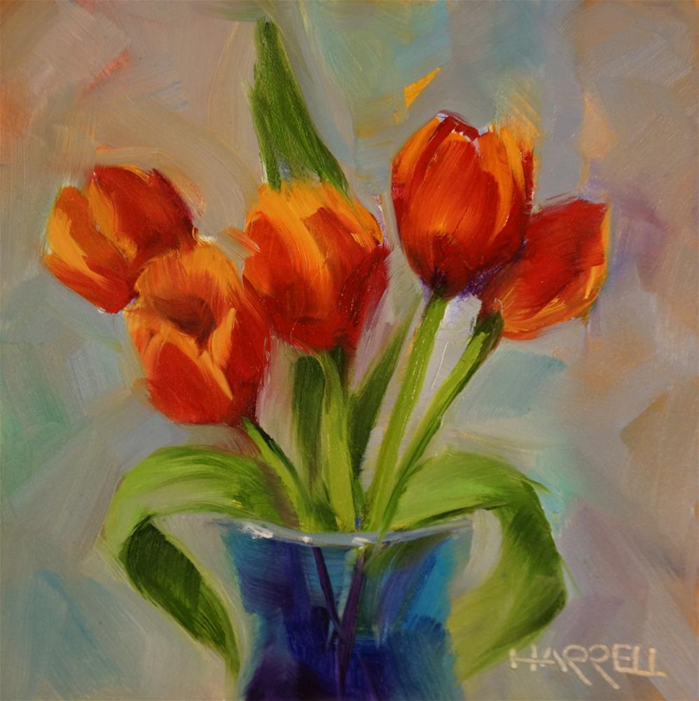 """""""The Out-of-Towners"""" original fine art by Sue Harrell"""