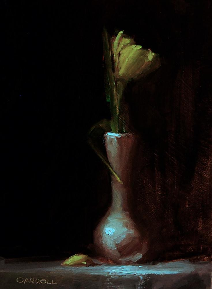 """Tulip"" original fine art by Neil Carroll"