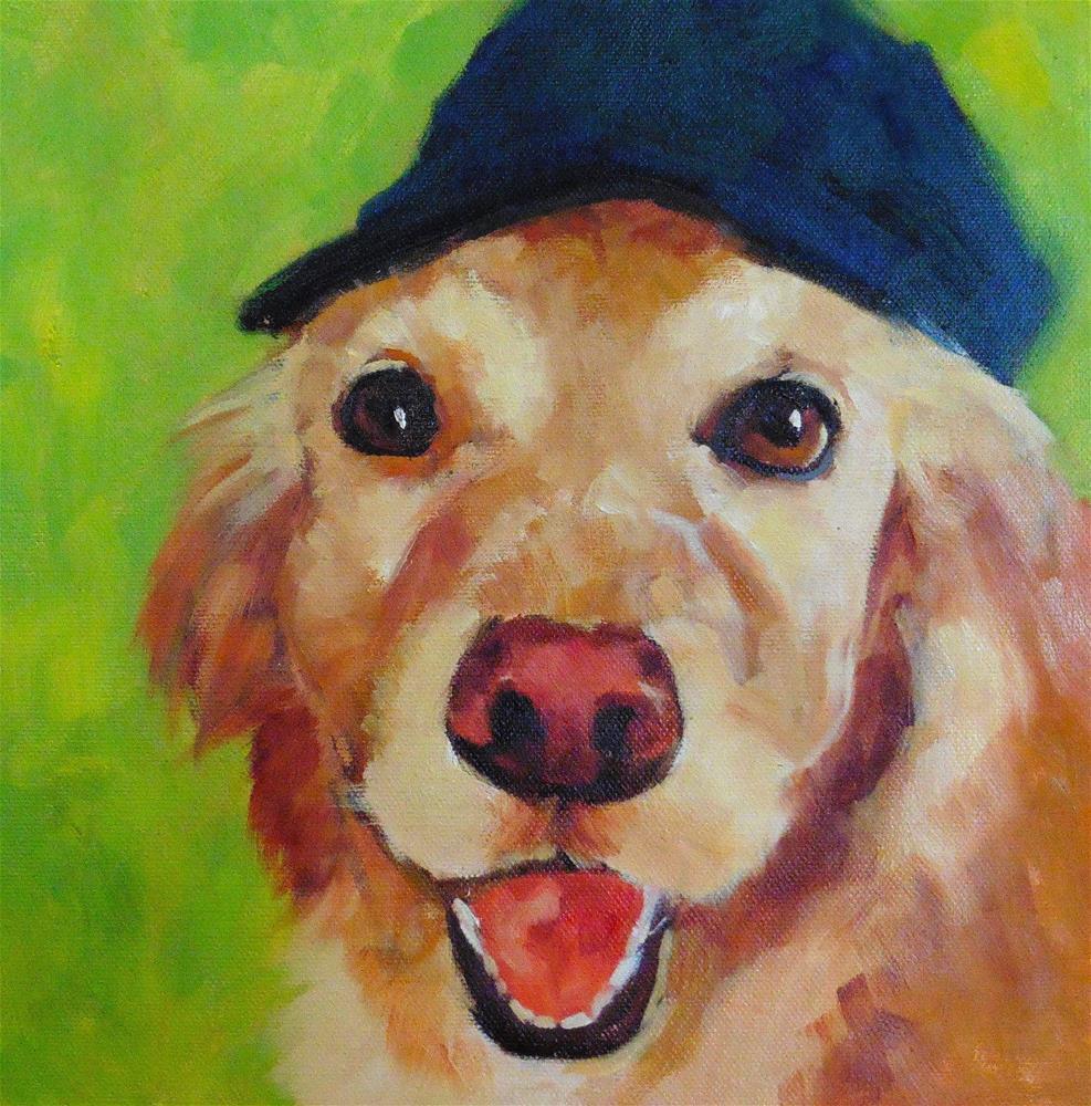 """""""Bailey"""" original fine art by Marlene Lee"""