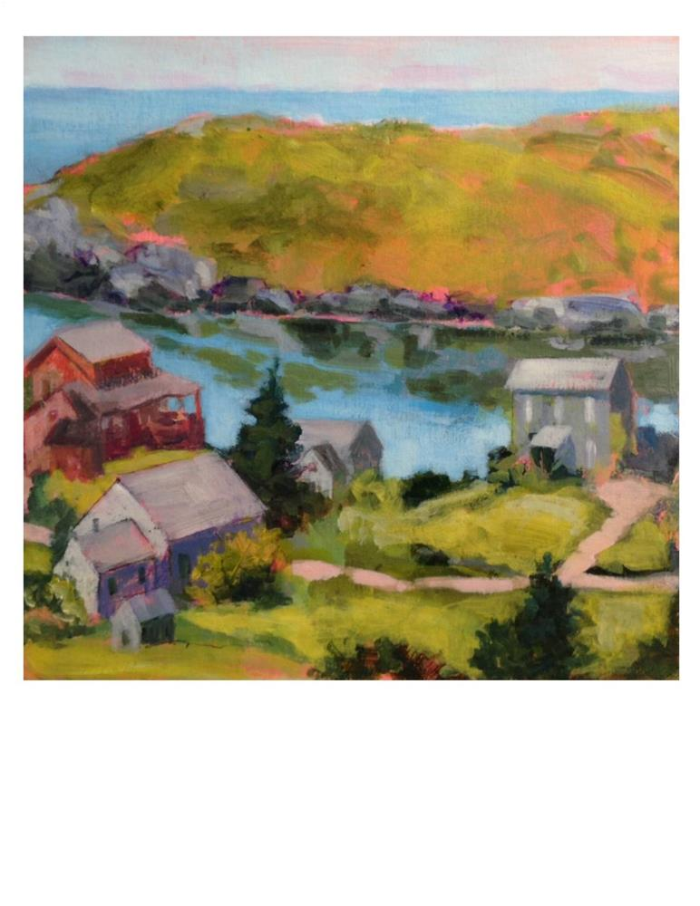 """Manana Island - Noon"" original fine art by Suzanne Woodward"