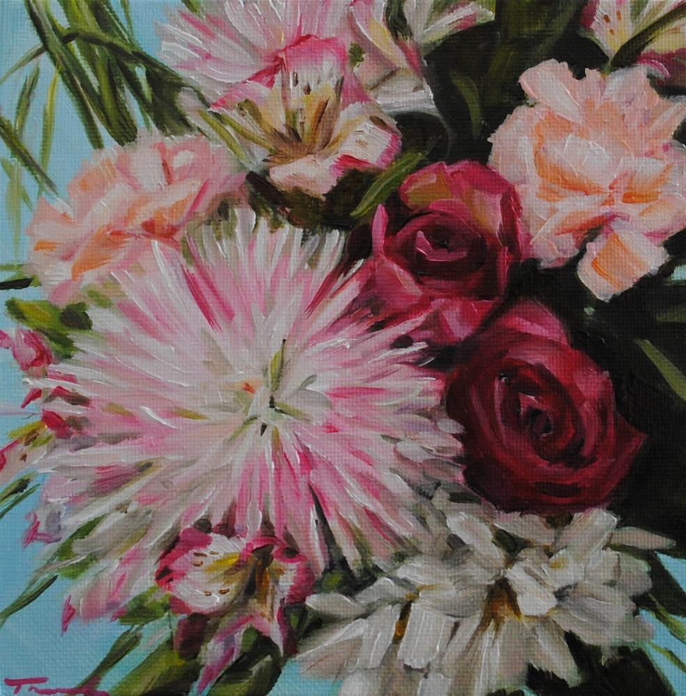 """Lily Mix"" original fine art by Tamanda Elia"