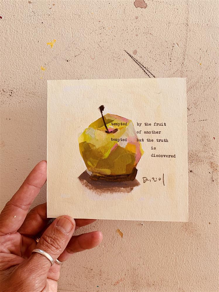 """759 TEMPTED"" original fine art by Jenny Doh"