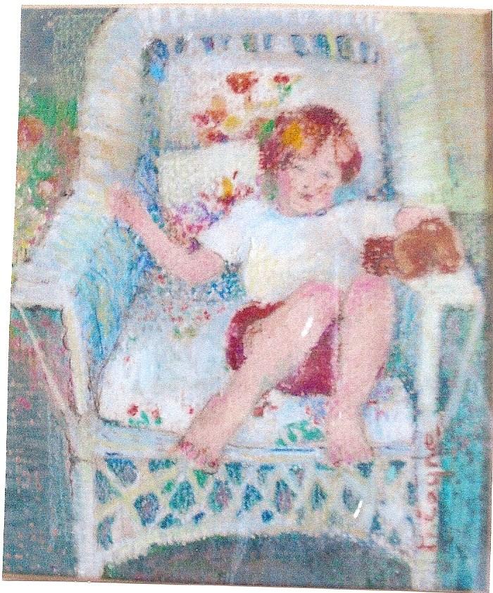 """Sanford"" original fine art by meribeth coyne"