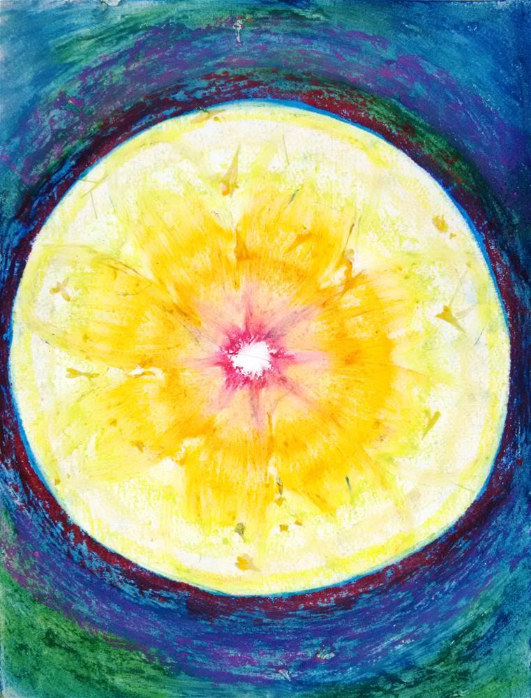 """""""Petals in the Light"""" original fine art by Adéla Svobodová"""