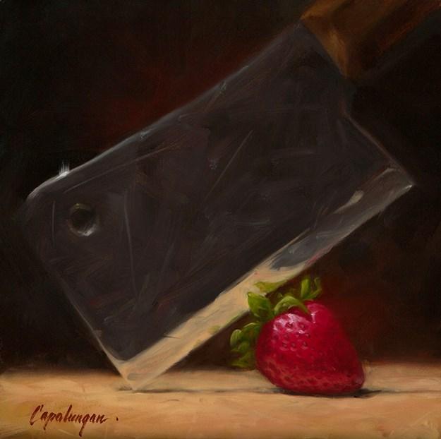 """Doomed As Doomed Can Be"" original fine art by David Capalungan"