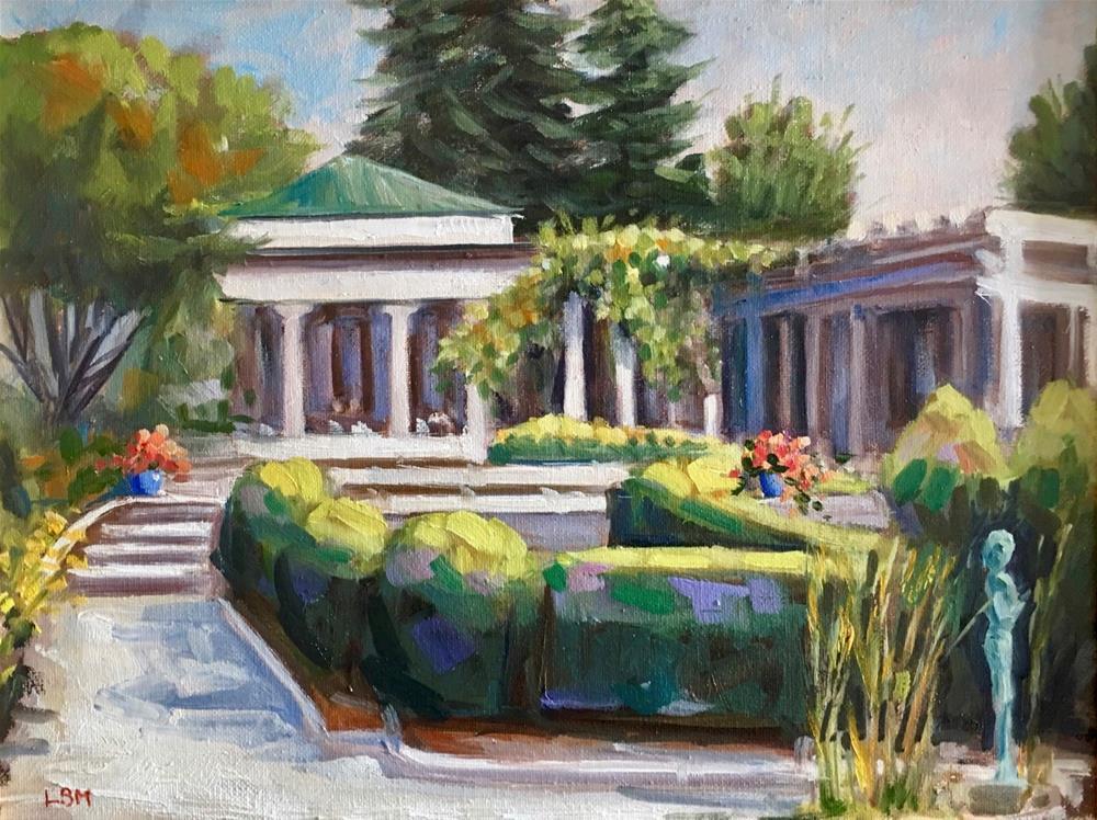 """Garden Glory, Harkness Park, Waterford, CT"" original fine art by Linda Marino"