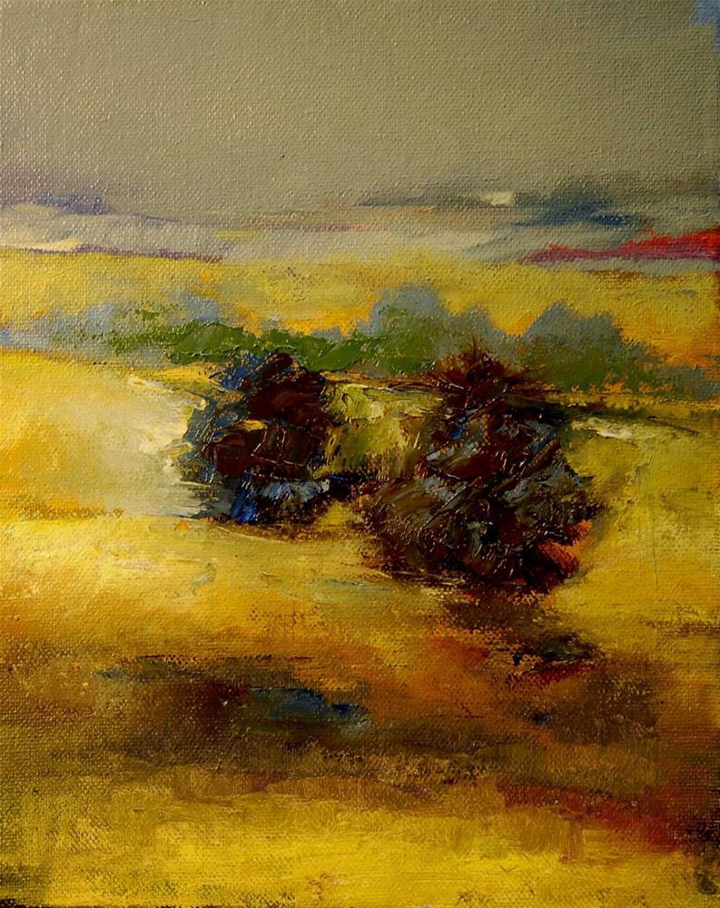 """heat"" original fine art by Mark DeBak"