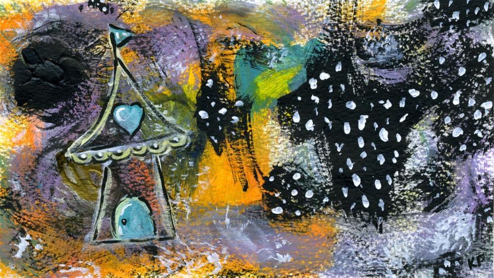 """""""Love Tent"""" original fine art by Kali Parsons"""