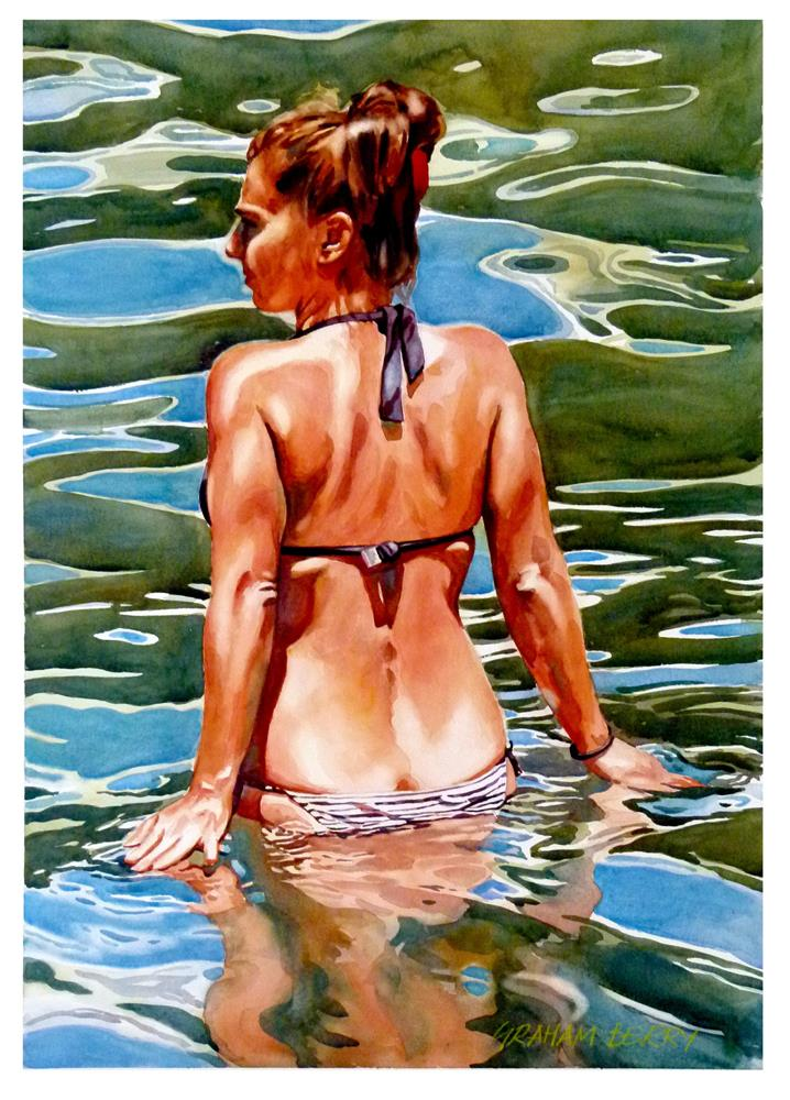 """Reflection 2."" original fine art by Graham Berry"