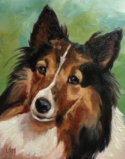 """Kaylee"" original fine art by Linda Marino"