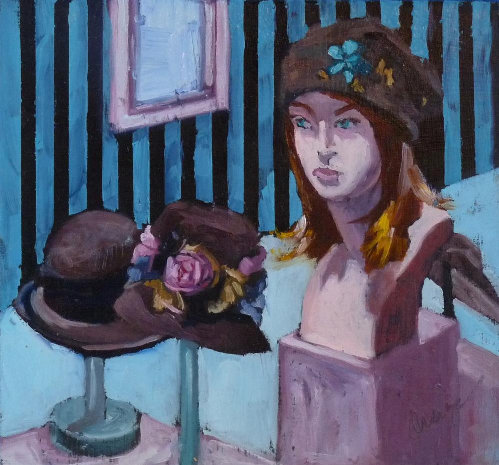 """""""Hats"""" original fine art by Sharman Owings"""