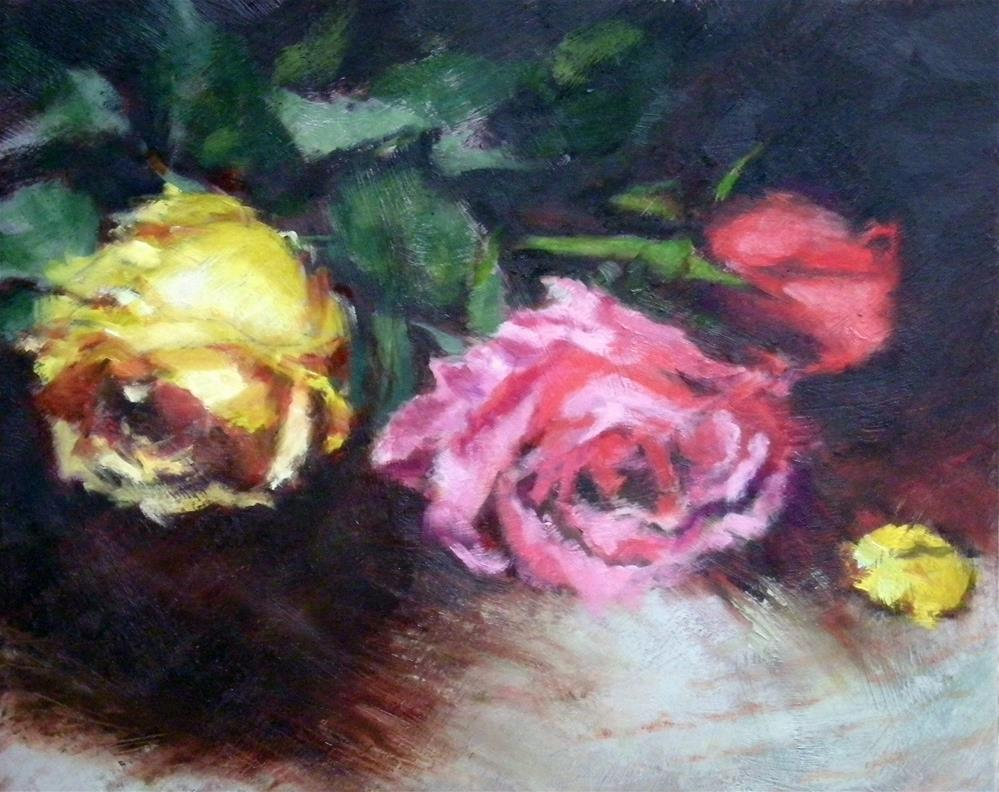 """Trio"" original fine art by Jill Brabant"