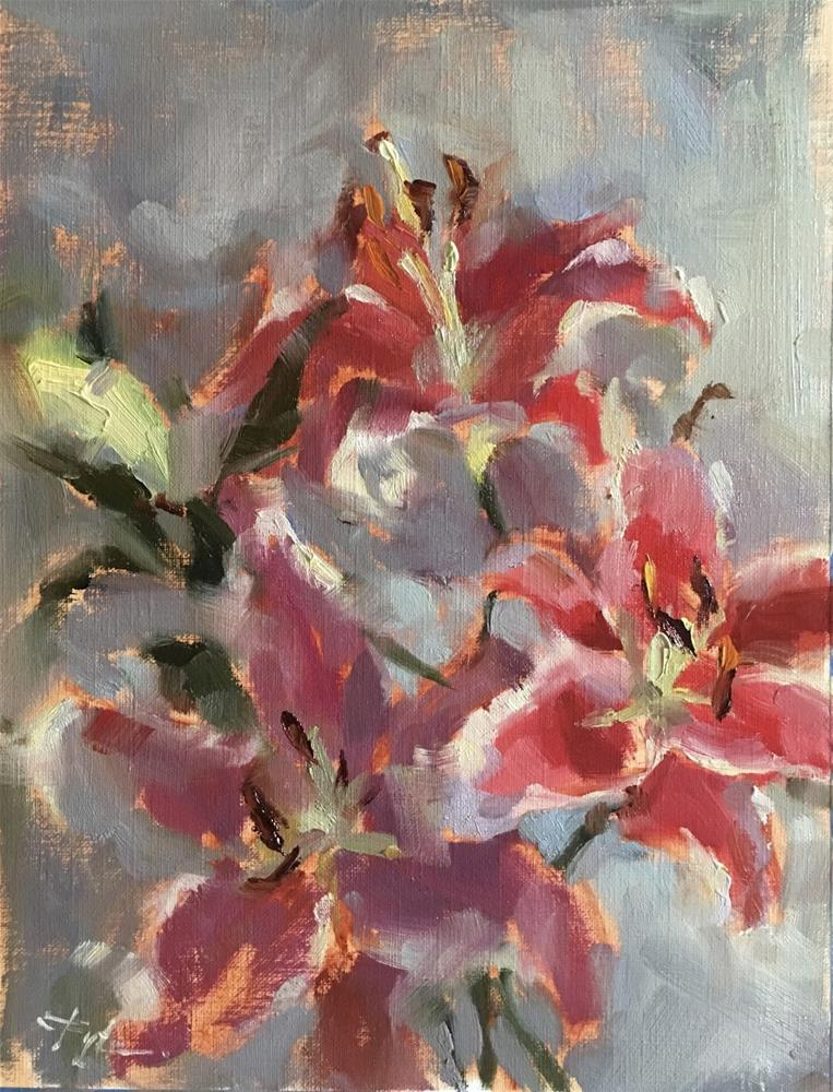 """""""30 days of painting Day 6"""" original fine art by Katia Kyte"""