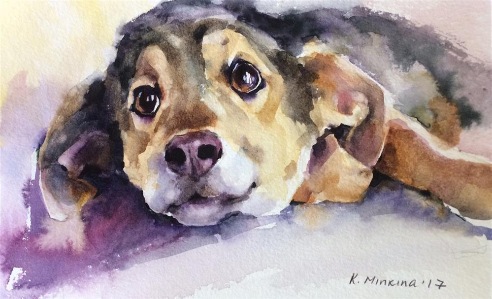 """adopt235"" original fine art by Katya Minkina"