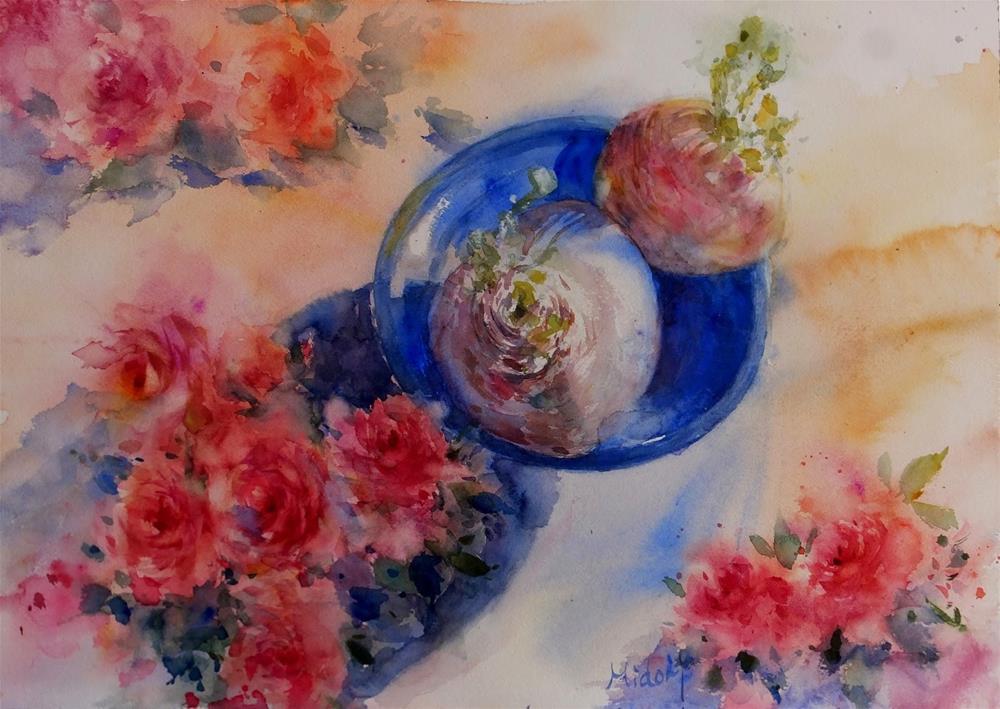 """""""Power of life"""" original fine art by Midori Yoshino"""