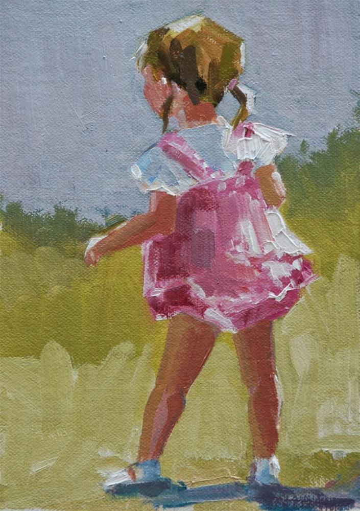 """""""pretty pink"""" original fine art by Carol Carmichael"""