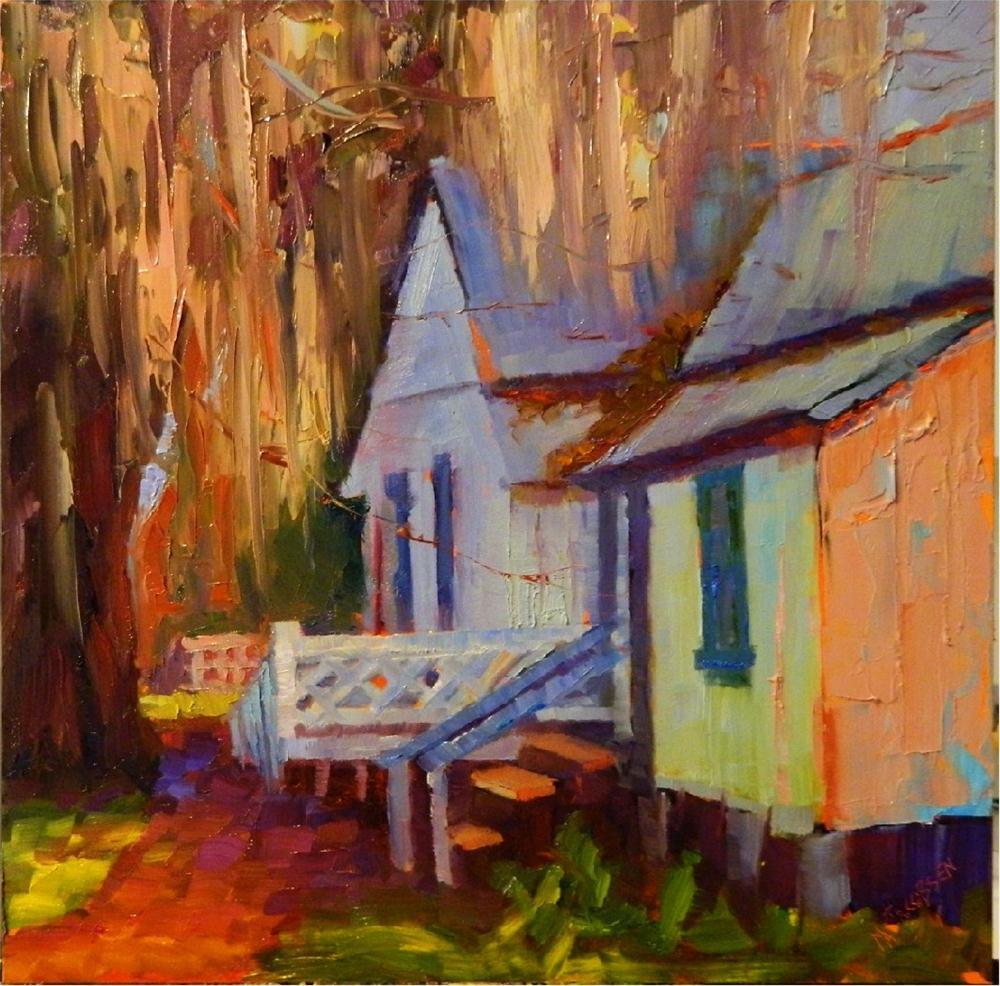"""Old Florida"" original fine art by Maryanne Jacobsen"