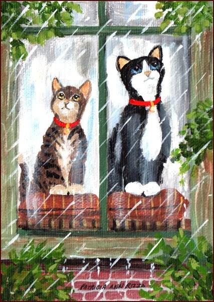 """Wishful Thinking"" original fine art by Patricia Ann Rizzo"
