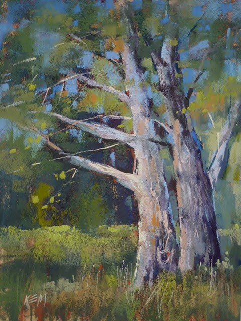 """Can You Do An Oil Underpainting with Water Soluble Oils?"" original fine art by Karen Margulis"