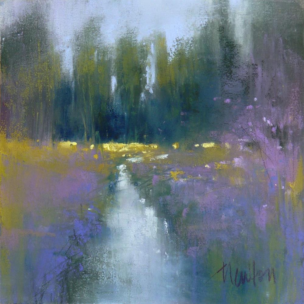 """Rock Creek #5"" original fine art by Barbara Benedetti Newton"