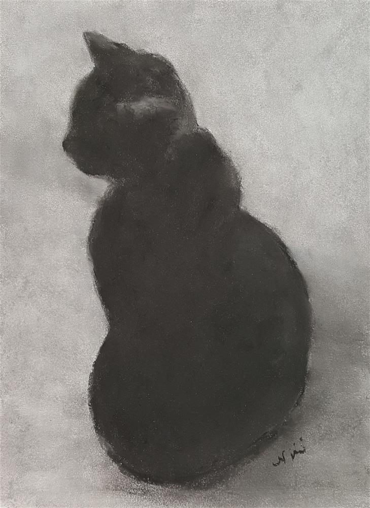 """Patience"" original fine art by Niki Hilsabeck"