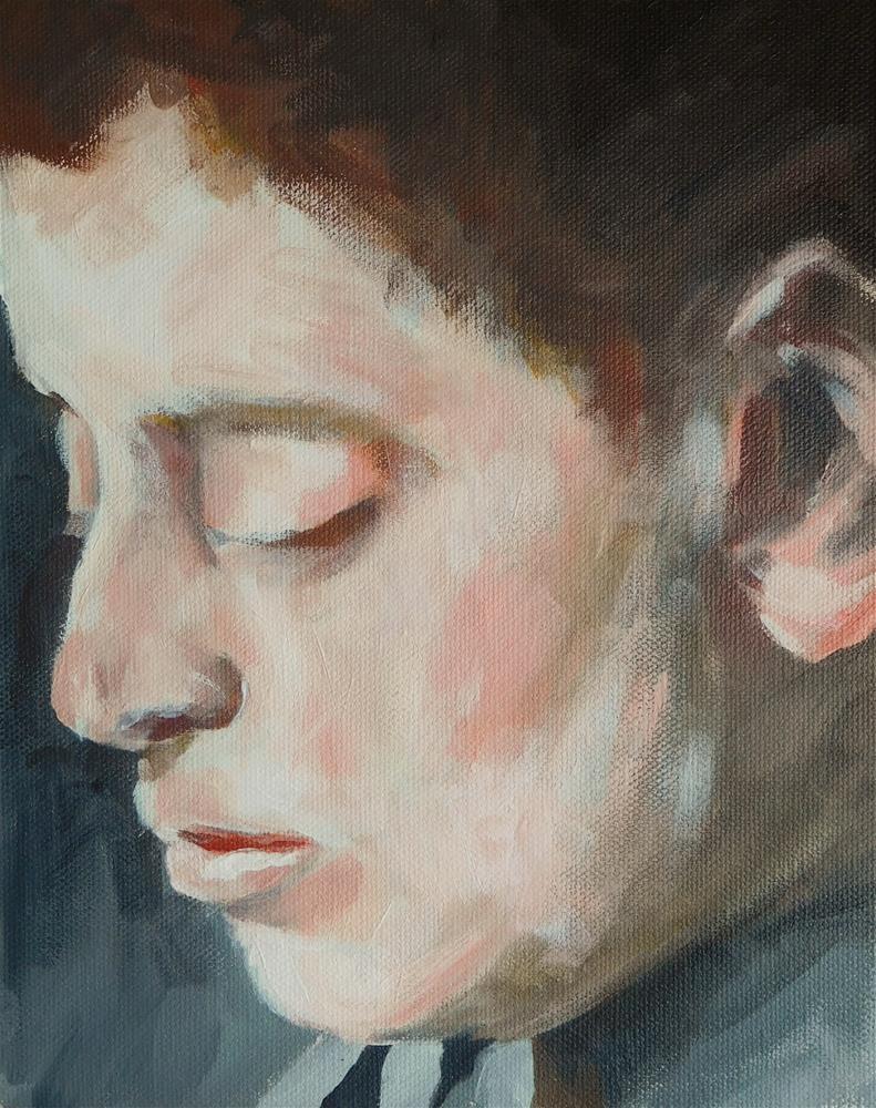 """Portrait 1"" original fine art by Daryl West"