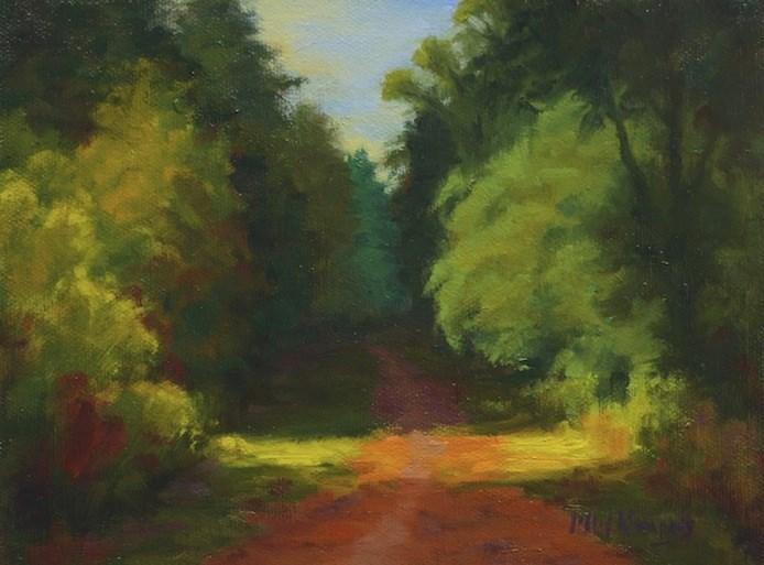 """Streaming Light"" original fine art by Michael Kennedy"