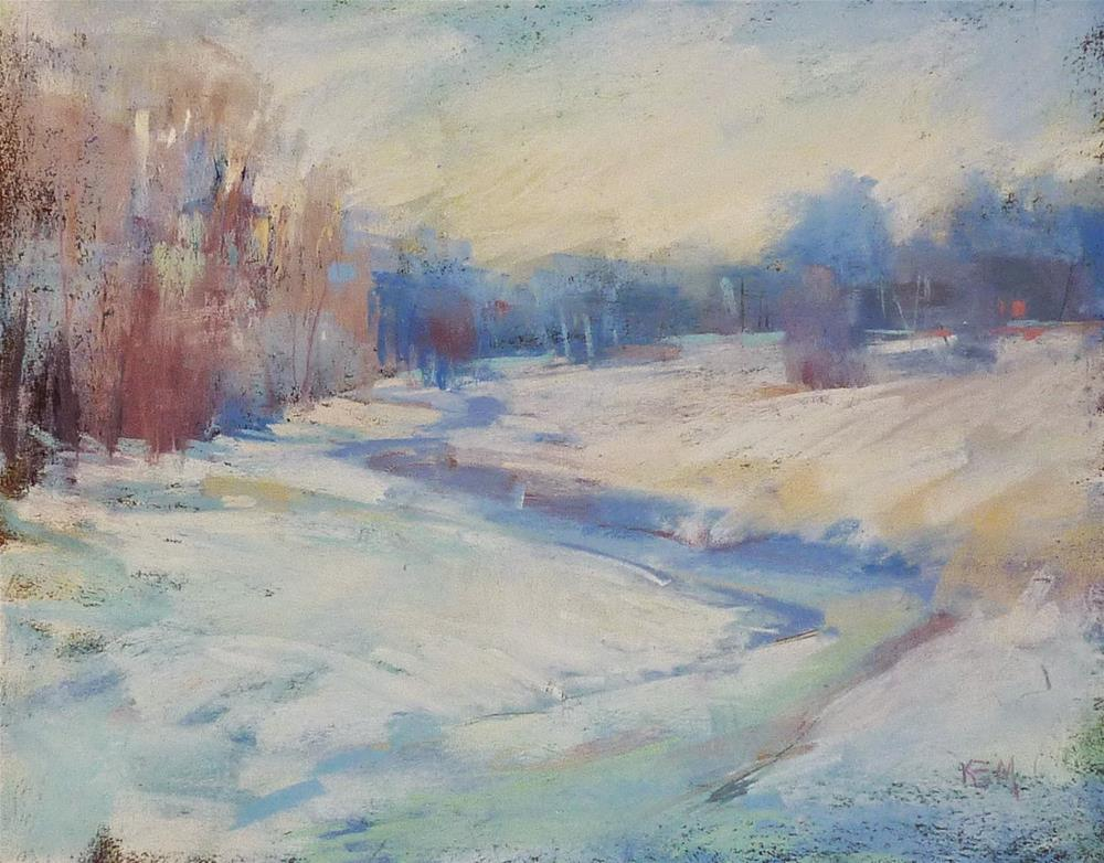 """A Painting Challenge for the New Year"" original fine art by Karen Margulis"