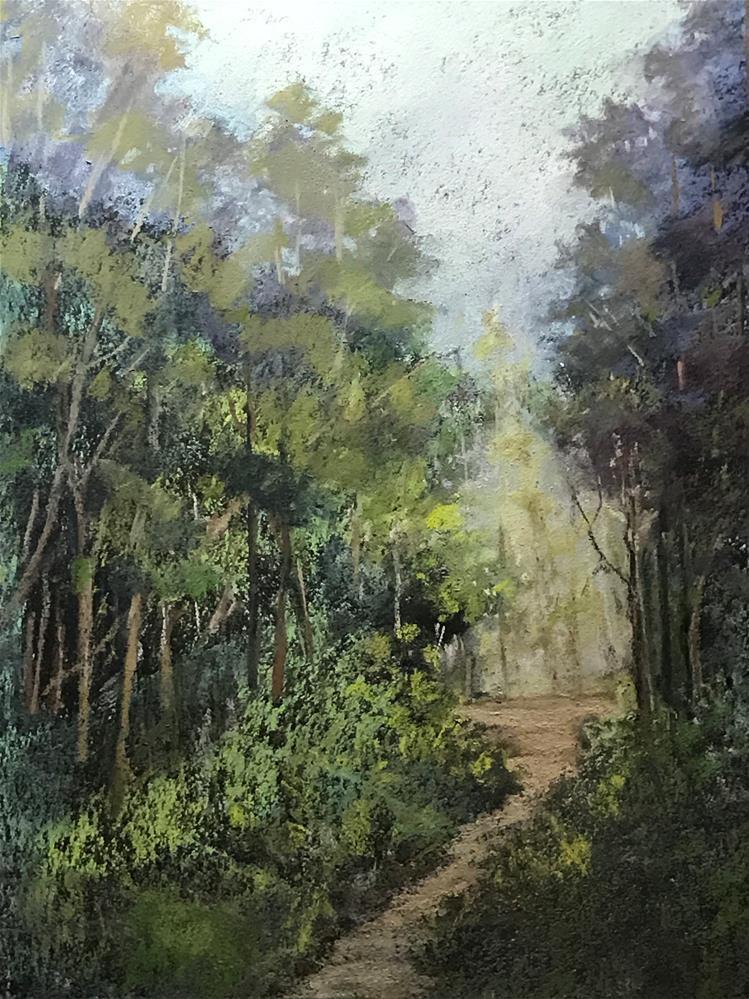 """summer walk"" original fine art by Betty Argiros"