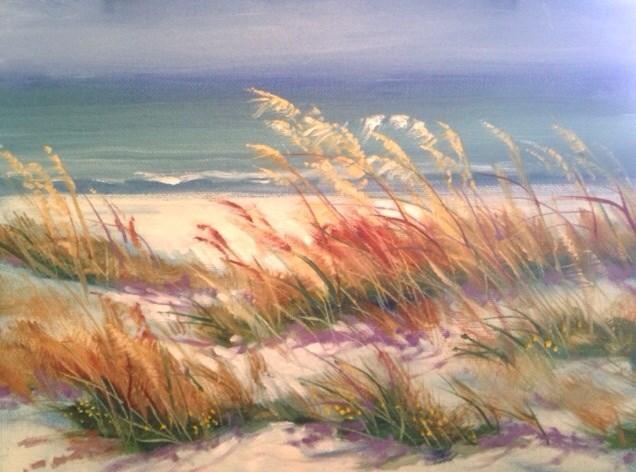 """Dunes"" original fine art by Margie Whittington"
